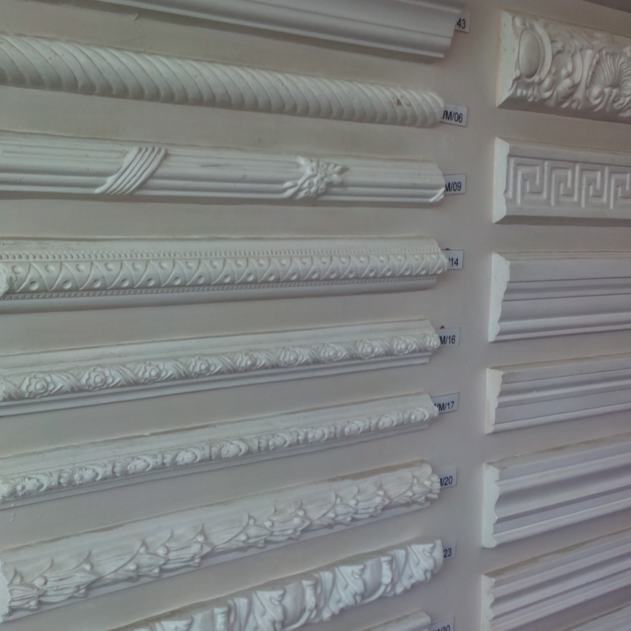 Flat Back Mouldings